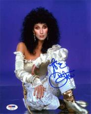 Cher Autographed Signed 8x10 Photo Certified PSA/DNA COA