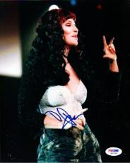 Cher Autographed Signed 8x10 Photo PSA/DNA #Q91338