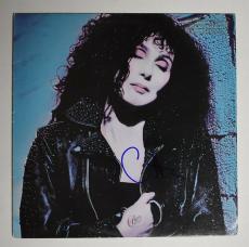 Cher Autographed Signed Album LP Record Certified Authentic PSA/DNA COA