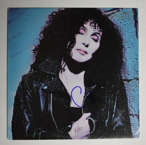 Cher Autographed Signed Album LP Record Certified Authentic PSA/DNA COA