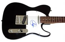 Cher Autographed Signed Tele Guitar & Proof AFTAL