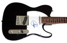 Cher Autographed Signed Tele Guitar & Proof AFTAL