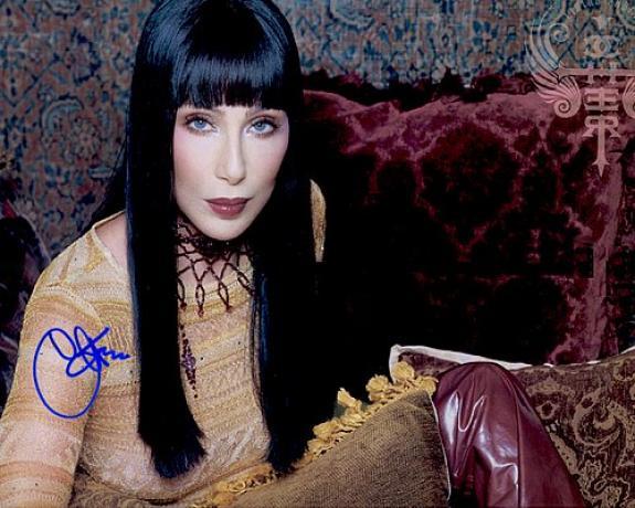 cher Facsimile Signature   Photo