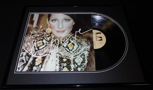 Cher Framed ORIGINAL 1972 Superpak Volume II Record Album Display