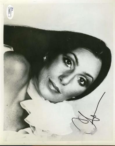 Cher Jsa Hand Signed 8x10 Photo Authentic Autograph