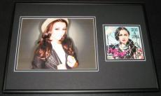 Cher Lloyd Signed Framed 12x18 CD & Photo Display Sticks & Stones