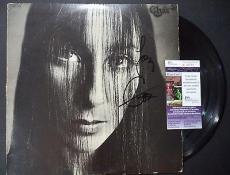 Cher Music Legend Jsa Coa Signed Autographed Album Cover W/original Record Rare
