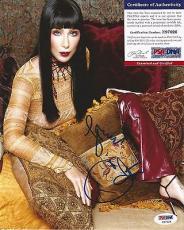 Cher Music Legend Signed Autographed 8x10 Photo Psa/dna Coa Authenticated Rare