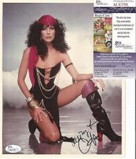 Cher Music Legend Signed Autographed 8x10 Photo Vintage Rare Jsa Coa Authentic