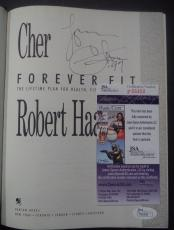 Cher Music Legend Signed Autographed Forever Fit Hardcover Book Jsa Coa Rare