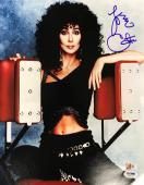 CHER signed authentic 11x14 photo PSA Authenticated