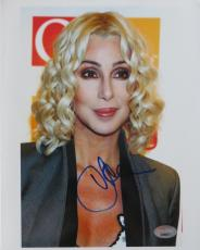 Cher Signed Authentic Authentic Autographed 8x10 Photo (PSA/DNA) #J64877