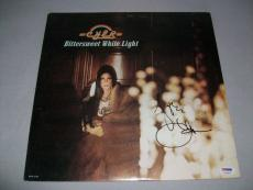 "CHER signed auto'd ""BITTERSWEET WHITE LIGHT"" LP RECORD PSA/DNA COA! EXACT PROOF!"