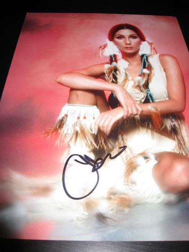 Cher Signed Autograph 11x14 Photo Legend Womans World Strong Enough Proof Ny D