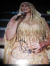 Cher Signed Autograph 11x14 Photo Legend Womans World Strong Enough Proof Ny F