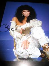 Cher Signed Autograph 11x14 Photo Legend Womans World Strong Enough Proof Ny I
