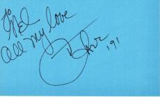 Cher Signed - Autographed 3x5 inch Index Card personalized to MEL - Legendary Actress - Singer - Guaranteed to pass PSA or JSA