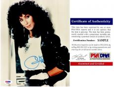 Cher Signed - Autographed Legendary Singer - Actress 8x10 inch Photo with PSA/DNA Certificate of Authenticity (COA)