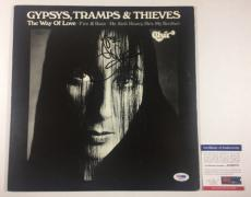 Cher Signed Gypsys, Tramps & Thieves Record Album Lp Vinyl Psa/dna Coa #ac63073