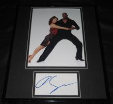 Cheryl Burke Signed Framed 11x14 Photo Display w/ Chad Ochocinco JSA DWTS
