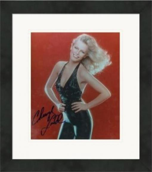 Cheryl Ladd autographed 8x10 Photo (Charlie's Angels) Matted & Framed