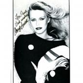Cheryl Ladd Autographed / Signed Black & White 8x10 Photo