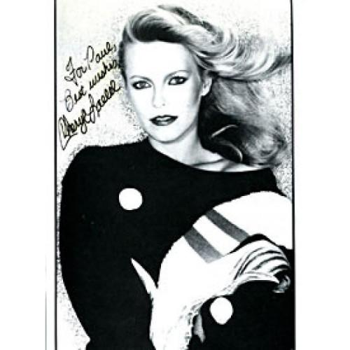 Cheryl Ladd Autographed / Signed Black & White 8x10 Photo