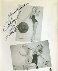 Cheryl Ladd Bas Beckett Authentication Coa Hand Signed 8x10 Photo Autograph