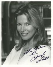 CHERYL LADD HAND SIGNED 8x10 PHOTO+COA     CHARLIE'S ANGELS     TO JOHN