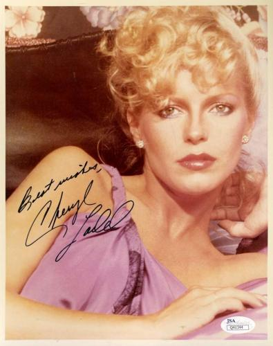 Cheryl Ladd Jsa Coa Hand Signed 8x10 Photo Authenticated Autograph