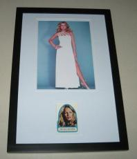 Cheryl Ladd SEXY Signed Framed 11x17 Photo Display Charlie's Angels