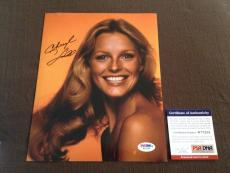 Cheryl Ladd Signed 8x10 photograph PSA DNA RARE Charlie's Angels HOT SEXY