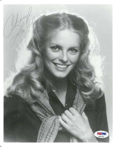 Cheryl Ladd Signed Authentic Autographed 8x10 B/W Photo PSA/DNA #AD61427