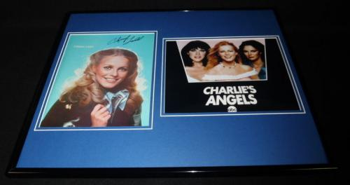 Cheryl Ladd Signed Framed 16x20 Photo Set Charlie's Angels w/ cast B