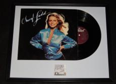 Cheryl Ladd Signed Framed 1978 Think It Over Record Album Display