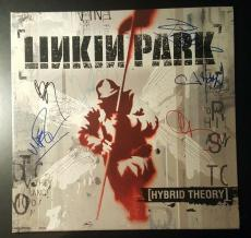 Chester Bennington Linkin Park Band Signed Autograph Album Hybrid Theory PSA/DNA