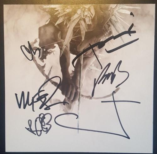Chester Bennington Linkin Park Band Signed Autographed CD Hunting Party PSA LOA