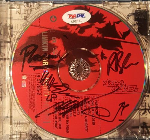 Chester Bennington Linkin Park Signed Autographed Hybrid Theory CD PSA/DNA LOA