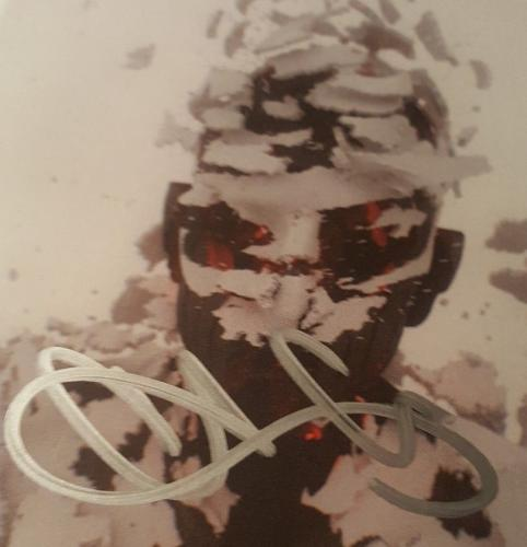 Chester Bennington Linkin Park Signed Autographed Living Things CD Cover PSA/DNA