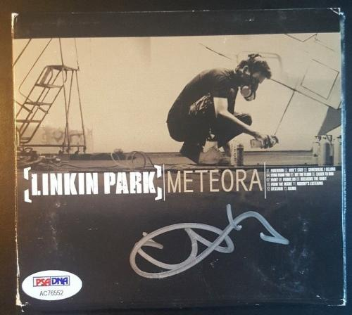 Chester Bennington Linkin Park Signed Autographed Meteora CD PSA/DNA AUTHENTIC