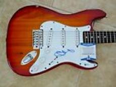 Chester Bennington Signed Autographed Electric Guitar BAS Beckett Certified