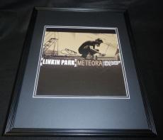 Chester Bennington Signed Framed 16x20 Linkin Park Meteora Poster Display
