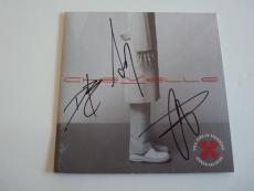 Chevelle All 3 Band Signed Autographed THINKING CD Book PSA Beckett Guaranteed