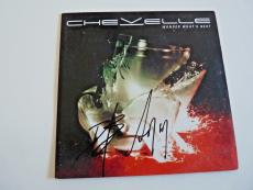 Chevelle All 3 Band Signed Autographed WONDER CD Book PSA Beckett Guaranteed