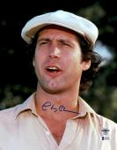"""Chevy Chase Autographed 11""""x 14"""" Caddyshack Hat Photograph - BAS COA"""