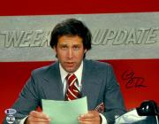"""Chevy Chase Autographed 11""""x 14"""" Saturday Night Live Weekend Update Photograph - BAS COA"""
