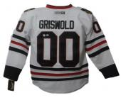 Chevy Chase Autographed Griswold Chicago Blackhawks White Rep Jersey 20520 Bas