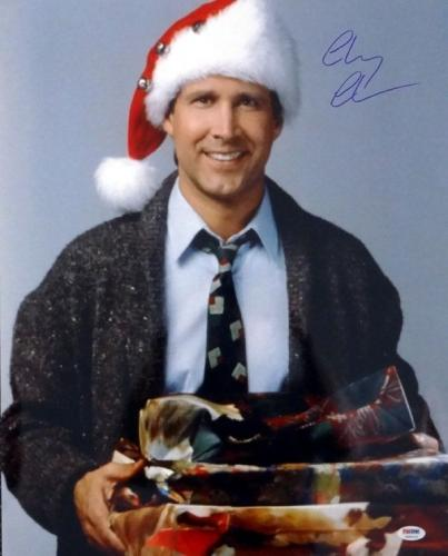 Chevy Chase Autographed Signed 16x20 Photo Christmas Vacation Psa/dna 77803