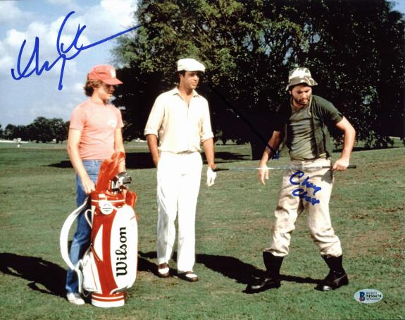 """Chevy Chase Caddyshack """"Chevy Chase"""" Signed 11x14 Photo BAS Witnessed #M50478"""