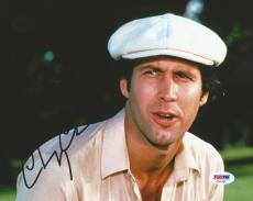 Chevy Chase Caddyshack Christmas Vacation Signed 8x10 Photo PSA/DNA COA (A)